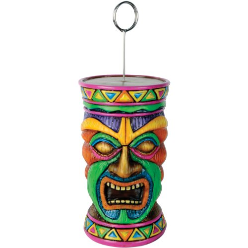 Tiki Photo/Balloon Holder Party Accessory (1 count)