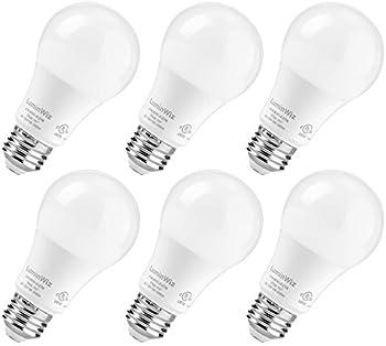 LuminWiz 60-watt Equivalent A19 Dimmable LED Bulb 6-Pack