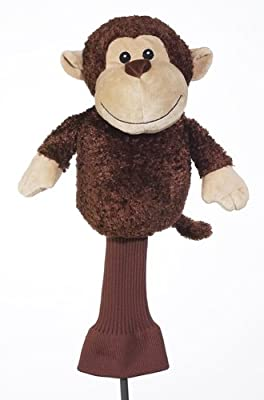 Creative Covers for Golf Mulligan the Monkey Golf Club Head Cover