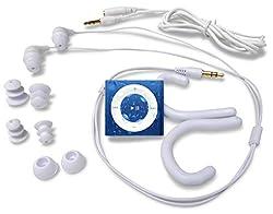 Underwater Audio Swimbuds Waterproof iPod Bundle (Royal Blue)