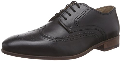 Ben Sherman RAME Brogue Derby, Brogue stringata uomo, Nero (Nero (nero)), 42