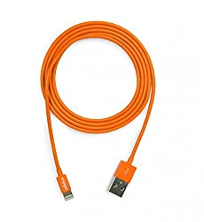 Ahha DonutString Sync & Charge Cable / Lightning Cable 1.2 M - Orange (A-HCCB-1007)