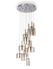 Large Oscar Blown Glass Pendant Ceiling Light