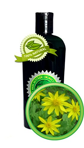 Arnica Oil Extract (Arnica Montana) - 4 oz - 100% Pure and Potent - Anti-inflammatory for Sore Muscles, Bruises, Sprains, and Fractures (READ DESCRIPTION)