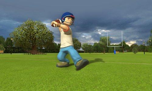 backyard sports football rookie rush xbox 360 electronics video