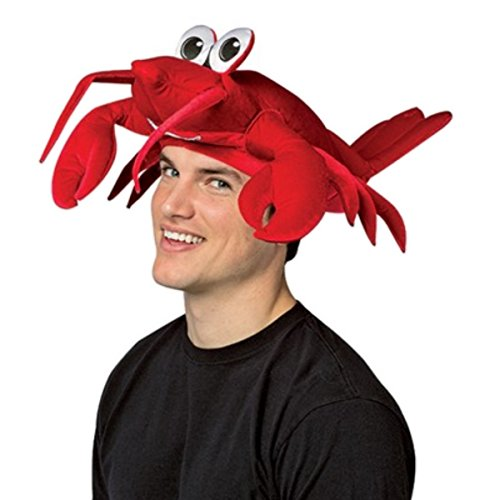 Red Lobster Hat - Costume Accessory (Sea Creature Costumes)