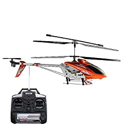 Syma S031G Big 3.5CH Helicopter Remote Control with Gyroscope (Orange)