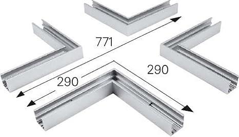 lts Luz & Leuchten X-Conector SCS 2.600WS mecánica accesorios para Leuchten 4043544180452