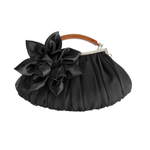 bmc-black-floral-embellished-sheer-chiffon-exterior-kissing-lock-clasp-resin-handle-framed-party-clu