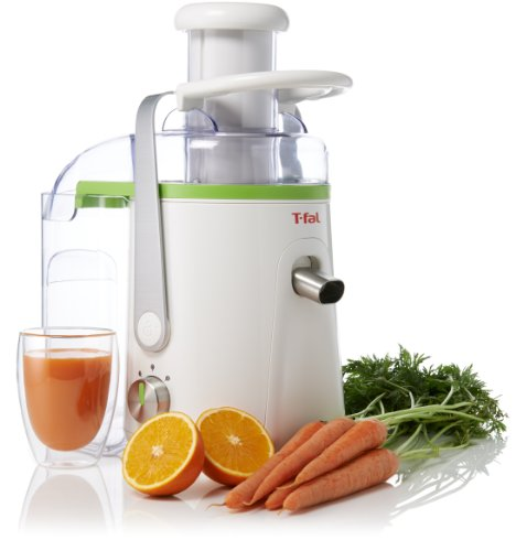 T-Fal Ze581 Balanced Living 550-Watt Juice Extractor With Stainless Steel
