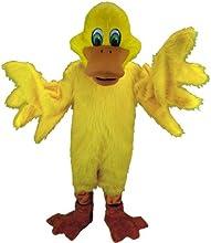 Yellow Duck Lightweight Mascot Costume