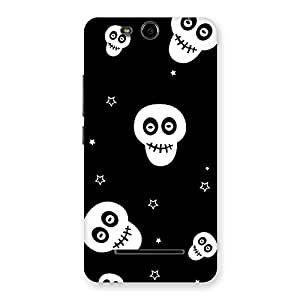 Gorgeous Skull Star Back Case Cover for Micromax Canvas Juice 3 Q392