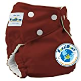 Fuzzibunz Elite One Size Cloth Diaper - ChocoTruffle