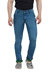 Lenox 747-2 Men's Stretchable Slim Fit Denim Jeans (Size : 38)