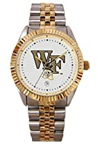 Wake Forest University Demon Deacons Mens Executive Stainless Steel Watch