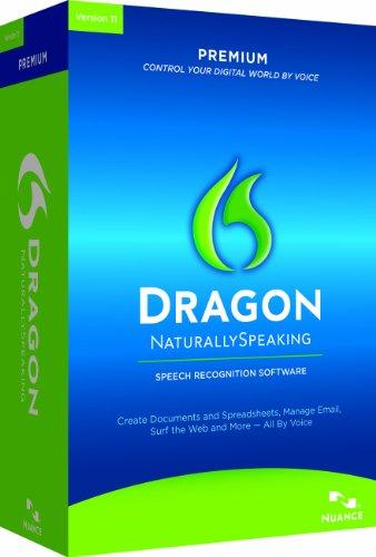 Dragon NaturallySpeaking 11 Premium 11.0 Edition, 5 User (PC)