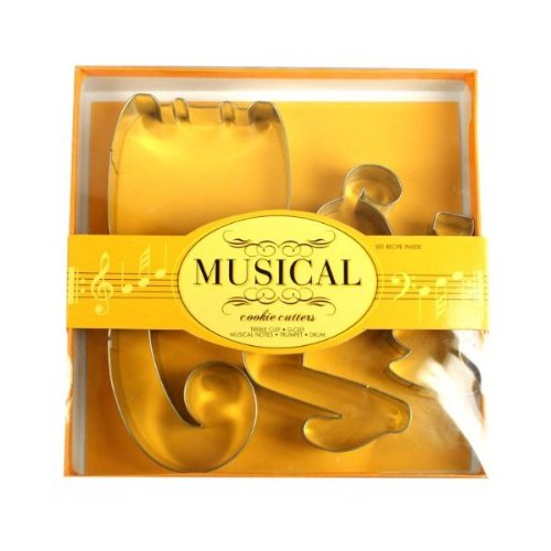Music Note Cookie Cutter Set