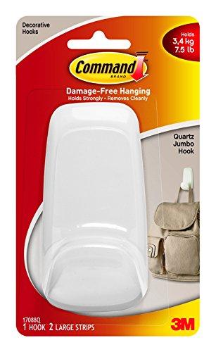 command-17088q-es-jumbo-hook-quartz-with-1-hook-2-strips