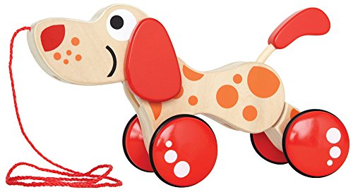 Hape – Walk-A-Long Puppy Wooden Pull Toy