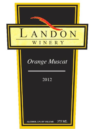 Landon Winery 2012  Orange Muscat, Texas 375 mL
