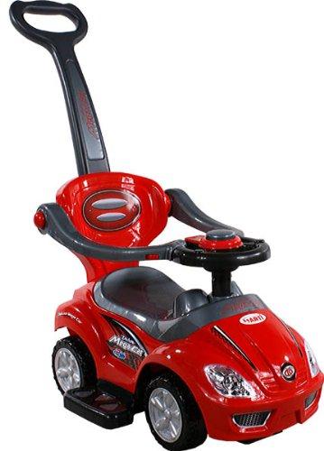 Baby Spielzeugauto ARTI 381 Mega Car Deluxe Red Rot Lauflernhilfe Lauflernwagen Kinderfahrzeuge