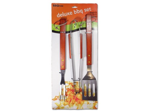 Deluxe barbecue utensil set - 24 pack
