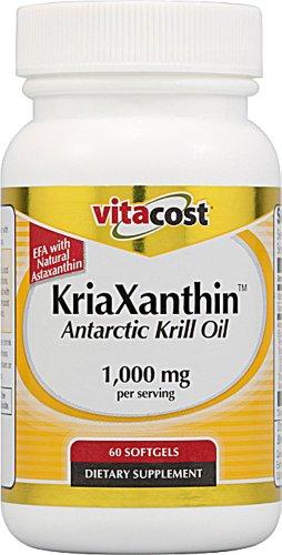 Vitacost KriaXanthin krill antarctique huile avec