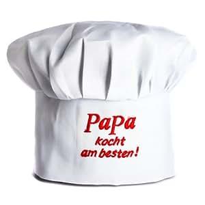 Udo Schmidt Kochmütze - Papa kocht am besten -