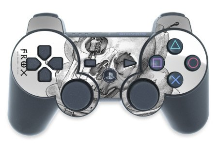 Mygift Served Design Ps3 Playstation 3 Controller Protector Skin Decal Sticker