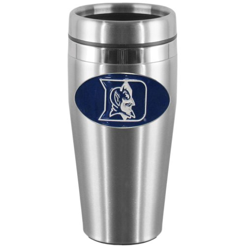 NCAA Duke Blue Devils Steel Travel Mug at Amazon.com