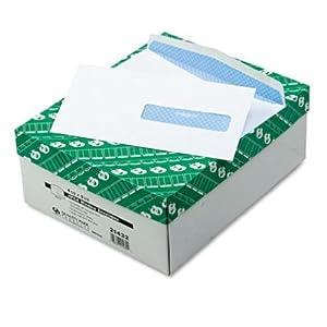 Quality Park Business Envelopes, Security Tinted, Box of 500 (QUA21432)