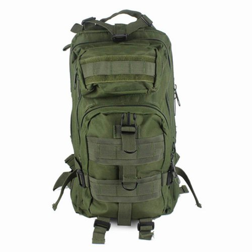 tinxs Military Army Patrol MOLLE Assault Pack Tactical Combat Rucksack Backpack Bag 30L Green