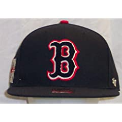 Boston Red Sox Caterpillar 47 Pro Wool Cooperstown Fitted Navy Cap Hat size 7 1 4 by