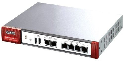 Zyxel Zywall Usg50 Internet Security Firewall With Dual-Wan, 4 Gigabit Lan/Dmz Ports, 5 Ipsec Vpn, Ssl Vpn, And 3G Wan Support