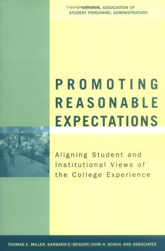 Promoting Reasonable Expectations: Aligning Student and...