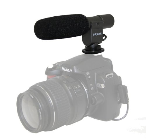 Polaroid Pro Video Condenser Shotgun Microphone For The Sony Hdr-Xr160, Pj10, Mc50U, Cx700V, Cx560V, Cx160, Xr100, Pj580V, Pj30V, Td10, Pj50V, Pj200, Cx200, Cx260V, Cx360V Handycam Camcorder