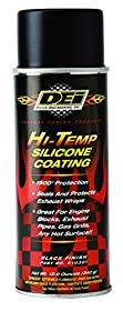 DEI 010301 Black High-Temperature Silicone Coating