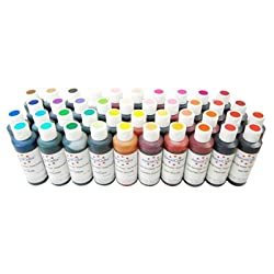 AmeriColor Master Soft Gel Paste Food Color Kit All 41 Soft Gel Paste Colors in 4.5 oz. Size Bottles