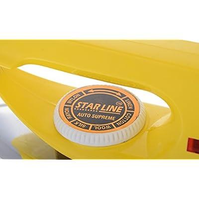 RB Star Line 750-Watt Dry Iron (Yellow)