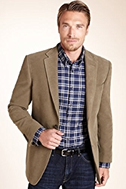 Blue Harbour Heritage Pure Cotton Moleskin Jacket
