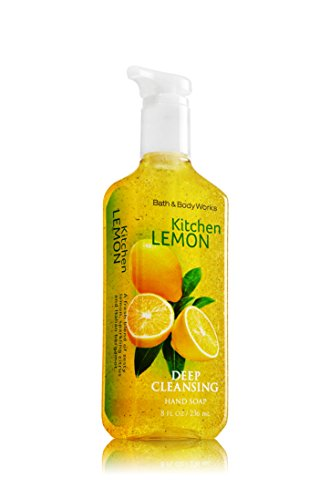 Bath Body Works Kitchen Lemon Deep Cleansing Hand Soap