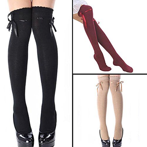 Women's Fashion Over The Knee Socks Thigh High Stocking