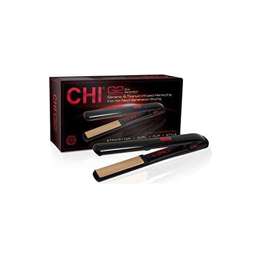 CHI - Dual Voltage Ceramic Hairstyling Iron 6 Glätteisen mit Farbanzeige im...
