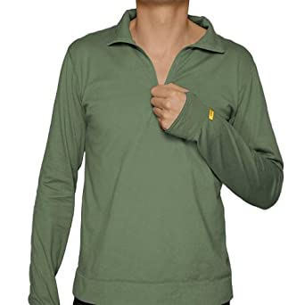 Mens Wicking Training Shirt by Sport Science - Olive - X-Large