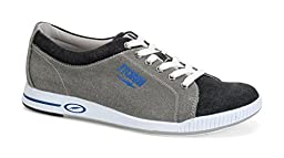 Storm Gust Bowling Shoes, Grey/Black/Blue, 8.5