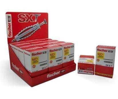 fischer-140100-tacos-fischer-sx-6-con-tornillo-caja-100