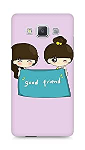 Amez designer printed 3d premium high quality back case cover for Samsung Galaxy A5 (GIrls Good Friends)