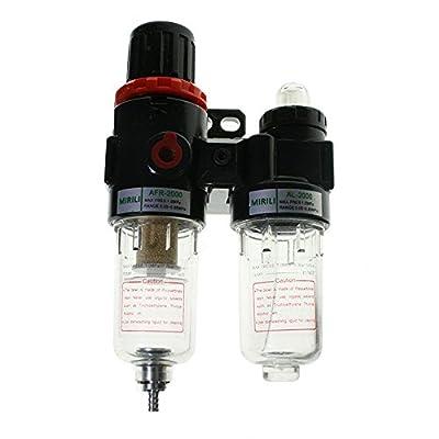 GoldenTrading AFC Air Pressure Regulator Oil/Water Separator Filter Compressor AFR2000+AL2000