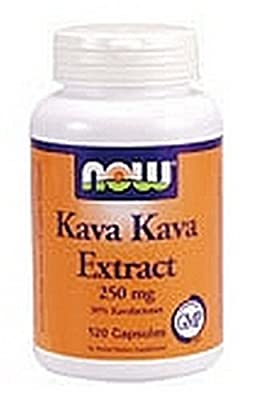 Now Foods Kava Kava 250mg, 60 Capsules