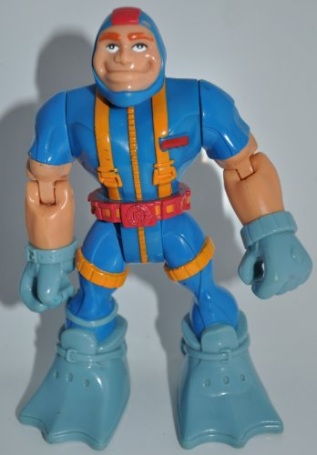Fisher-Price Rescue Heroes Gil Gripper Scuba Diver Rescue Hero Action Figure